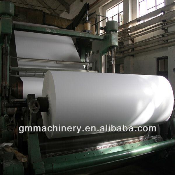 1575mm high quality news printing paper machine