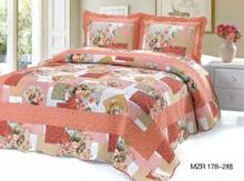 Patchwork bed sheets MZR178 Orange