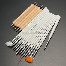 BIN hot selling 15 pcs Professional kolinsky nail art brush