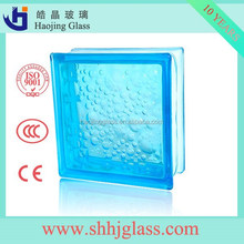 Hot sale blue glass block manufactuers/glass block price with high quality