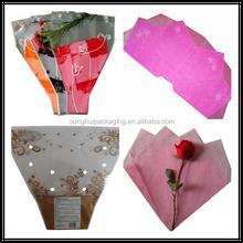 plastic package for fresh flower/PP sleeve for flower
