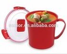 microondas caneca de sopa microwavable viagens canecas com alça