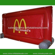 Commercial inflatable advertising screen inflatable screens for sale street advertising screen for event