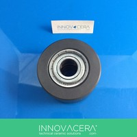 High Hardness Si3N4 / Silicon Nitride Ceramic Ball Bearing For Diesel Engine / INNOVACERA