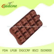para hornear pasteles de chocolate moldes de chocolate del molde de bricolaje de chocolate caliente de chocolate del molde