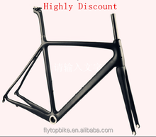 Flytop Highly Discount! High quality carbon road bike frame china