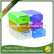 Colored Square Acrylic Shoe Display Sneaker Box