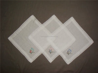 wholesale cotton hand embroidery handkerchief