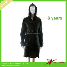 Fashion women raincoat prices / rain coat fashion for women