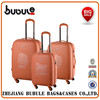 BUBULE! 2015 PP zipper rolling luggage travel trolley case High quality travel luggage