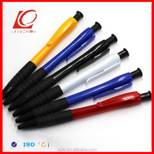 new arrived highlight coating covered plastic roller ball pen with LOGO customized printing