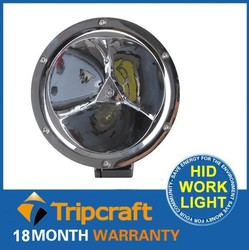 Round 45W LED WorkLight Track Farming 4WD Work Lamp 3pcs*15W Flood Spot Beam Driving Worklight