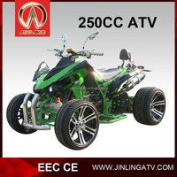 """250cc Jinling EEC Racing atv with 12""""inch/14""""inch alloy wheel"""