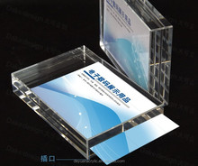 New Acrylic Clear Advertising Card Display Product