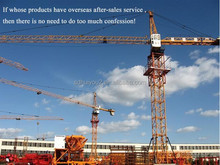 Remote Control 5t Mobile/Traveling/Rail Tower Crane with CE/ISO/BV/CU-TR