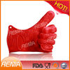RENJIA fda heat resistant silicone oven mitt,silicone placemat,cut resistant glove
