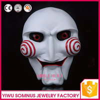 resin mask realistic the saw movie for halloween party cosplay masquerade JOKING MASK J118