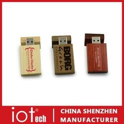 Shenzhen Free Sample Cheap Wooden USB Flash Drive 512GB