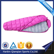 HS9620 mummy style duck down heated thermal adult sleeping bags