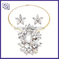 elegant europe style star shape diamond jewelry set for party wedding jewelry set