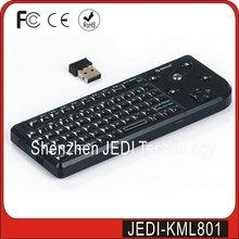 Low price mini wireless keyboard trackball