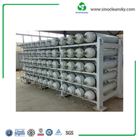 ISO9809 356mm 25MPa 150L CNG Type 4 Cylinder Manufacturer