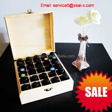 High quality packaging factory customize wooden box for essential oil