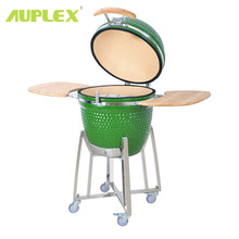 Big size AU-21 party grill kamado green color egg shape