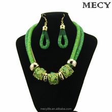 MECY LIFE 2015 wholesale fashion colorful bead mesh jewelry