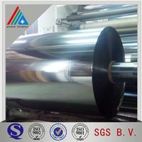 Trade Assurance Yarn Grade Metallic Polyester PET Film in Roll
