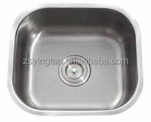 Piccolo angolo lavabo, lavello rustico, tondo cucina lavello- s4438