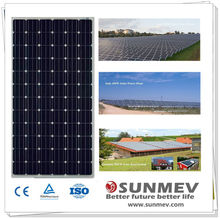 High power solar panel 305w best glass