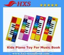 2015 Latest Released Kids Education Piano Toy For Musical Book