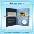 Tarjeta de video super caliente de 7 pulgadas LCD en la impresión de cine