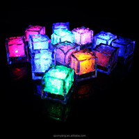 Fashion glow led ice cubes,color changing ice cubes