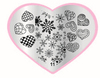 Hot Sell nail decoration; Professional Nail Beauty Nail Art Stamping Image Template Plate
