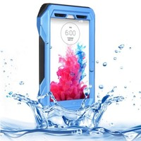 Mobile Phone Accessory IP68 Waterproof Protective Case for LG G3 with HD Screen Guard and Lanyard