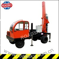 Most popular China machinery wheeled bored piling equipment