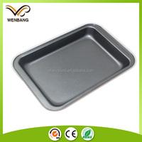 carton steel bakeware cake baking utensils, shallow baking pan, flat baking tray