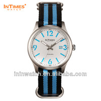 Branded watch InTimes 39mm stainless steel back quartz quality watches Retail Wholesale OEM