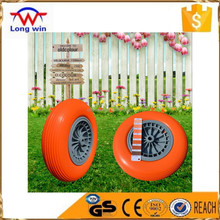 US $33,000 Trade Assurance 1 Year Guarantee 400 - 8 and 3.50 - 4 PU Wheelbarrow Wheel