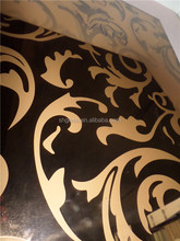 1830*2440mm, 1650*2200mm Coated patterned glass/Reflective glass/colored mirror/cabinet glass