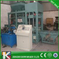 Insulated concrete hollow block machine made in China/ breeze block algeria/cement brick making machine