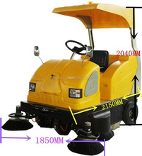 Electromagnetic cleaner car MN-E8006 CE Compact sweeper ,small street washing machine