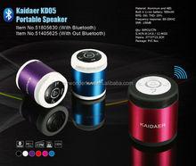 Cylinder shape mini usb speaker/TF card speaker/FM audio