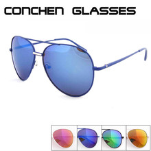 Wholesale high quality spring hinge custom sunglasses new pilot