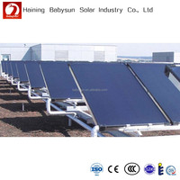 2015 China factory high pressure flat plate solar power collector, solar water heater