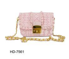 Unique Pattern Design Handbag for Girls