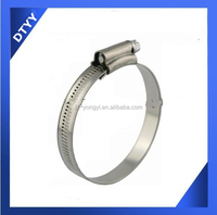 Factory supply ! fire sprinkler flexible hose with stainless steel british type hose clamp