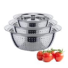 Stainless steel rice sieve/ fruit sieve / vegetable basket